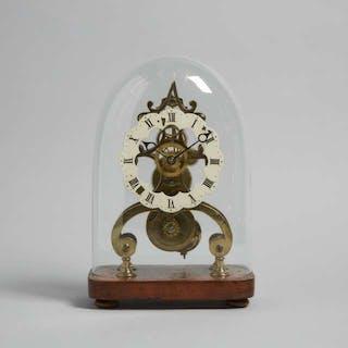 English Skeleton Clock, c.1880 -