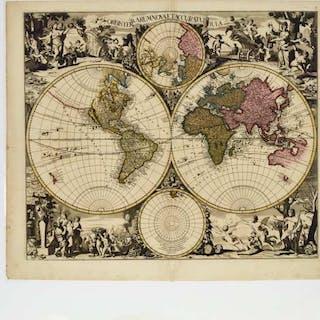 Gerard (1652-1726) and Leonard Valk (1675-1746) - ORBIS TERRARUM NOVA