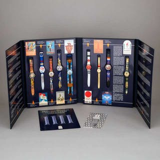 Swatch Historical Olympic Games Collection of Wristwatches, 1996 -