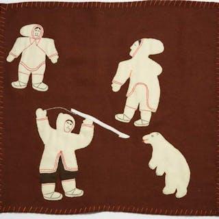 MARY KAHOOTSUAK MIKI (b.1920), Eskimo Point / Arviat - UNTITLED