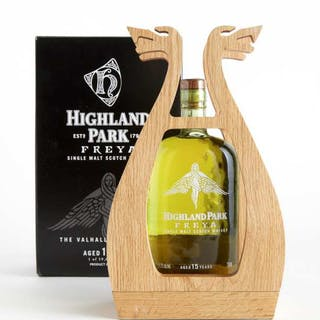 HIGHLAND PARK SINGLE MALT SCOTCH WHISKY 15 YEARS (ONE 750 ML) -