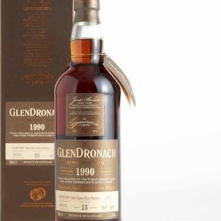 THE GLENDRONACH HIGHLAND SINGLE MALT SCOTCH WHISKY 25 YEARS (ONE 700 ML) -