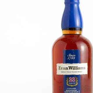 EVAN WILLIAMS KENTUCKY STRAIGHT BOURBON WHISKEY 23 YEARS (ONE 750 ML) -
