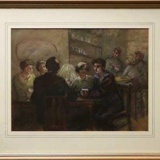 IDA PARFITT (BRITISH, 1910-1977)    - UNTITLED (A SAILOR'S TALE)