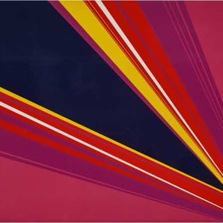 RITA LETENDRE (CANADIAN, 1928-)  - TWILIGHT PHASE III