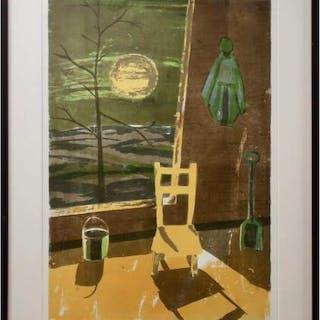 JOHN HAROLD THOMAS SNOW (CANADIAN, 1911-2004)- BLACKFALDS