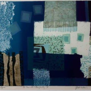 RONALD YORK WILSON (CANADIAN, 1907-1994)     - BLUE OPUS