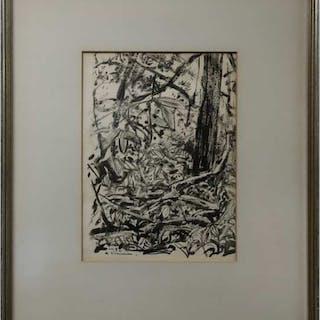 ARTHUR LISMER (CANADIAN, 1885-1969)  - TREES SKETCH