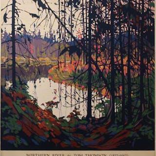 SAMPSON & MATTHEWS LTD. (TOM THOMSON, 1877-1917)    - NORTHERN RIVER