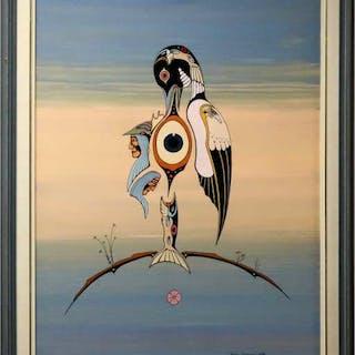 ROY SALOPREE (CANADIAN, 1954-)    - DEH NEHNGO NAH