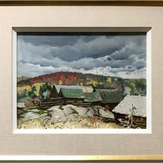 GEORGE FRANKLIN ARBUCKLE (CANADIAN, 1909-2001) - BARRY'S BAY, ONT.