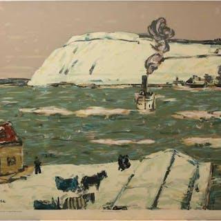 SAMPSON & MATTHEWS LTD. (JAMES W. MORRICE, 1865-1924)    - THE FERRY, QUEBEC