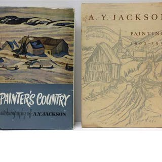 "A.Y. JACKSON (CANADIAN, 1882-1974)   - ""A PAINTER'S COUNTRY"" AND ""A.Y."