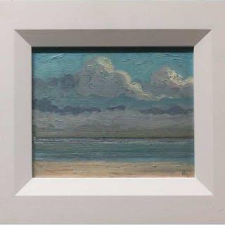 NORMAN R. BROWN (CANADIAN, 1958-)     - SILVER BEACH (BEACH SERIES)