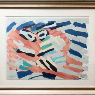 KAREL APPEL (DUTCH, 1921-2006)    - UNTITLED (ABSTRACT)