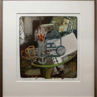 JOHN CARL HEYWOOD (CANADIAN, 1941-)   - NON-CUBIST STUDY