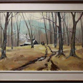 DOUGLAS FERGUSON ELLIOTT (CANADIAN, 1916-2012)  - SUGARWOODS MOTIF