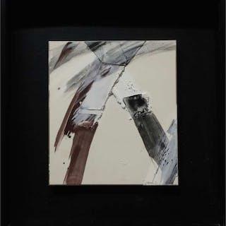 JOHN FRANKLIN KOENIG (AMERICAN, 1924-2008)  - UNTITLED (ABSTRACT)