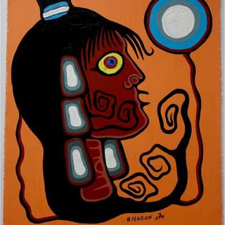 BRIAN MARION (CANADIAN, 1960-2010)- SHAMAN'S WIFE (2010)