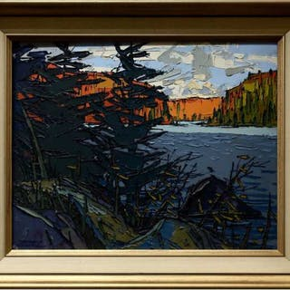 THOMAS FREDERICK HAIG CHATFIELD (CANADIAN, 1921-1999)   - LAKE OPEONGO