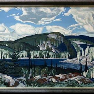 ALFRED JOSEPH CASSON (CANADIAN, 1898-1992)     - ALGONQUIN PARK, ONTARIO