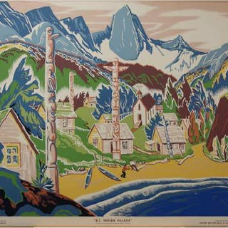 SAMPSON & MATTHEWS LTD. (JOCK W.G. MACDONALD, 1897-1960)     - B.C.