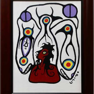CHRISTIAN MORRISSEAU (CANADIAN, 1969-)    - TRANSFORMATION OF MAN