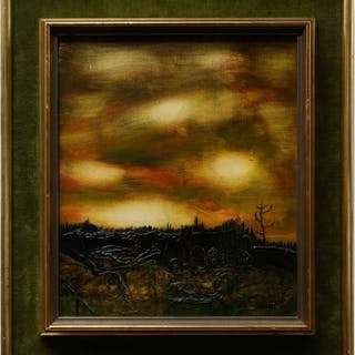 YEHUDA LEON CHAKI (CANADIAN, 1938-)    - CREATION NO. 8