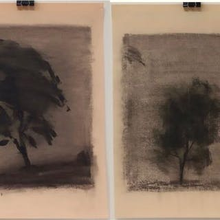 RICHARD BORTHWICK GORMAN (CANADIAN, 1935-2010)   - UNTITLED (TREE