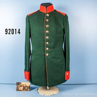 Konv. Preußen Uniformrock für Mannschaften des Lauenburgischen Jäger-Bataillons