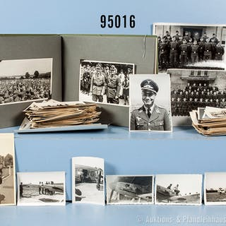 Fotonachlass eines späteren Offiziers der Flak-Artillerie der Luftwaffe