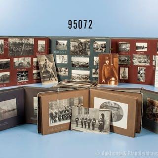 Fotonachlass eines späteren bayerischen Artillerie Offiziers 1. WK
