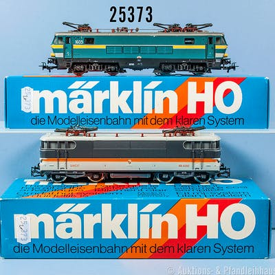 Konv. 2 Märklin H0 Lokomotiven, dabei 3152 E-Lok der SNCB, BN 1605