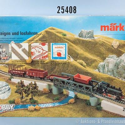 Märklin H0 2905 Startpackung Güterzug, dabei Tenderlok der DB, BN