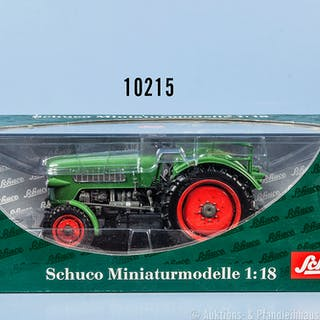 Schuco 00110 Traktor Fendt Farmer II, lack. Metallgußausf., M 1:18