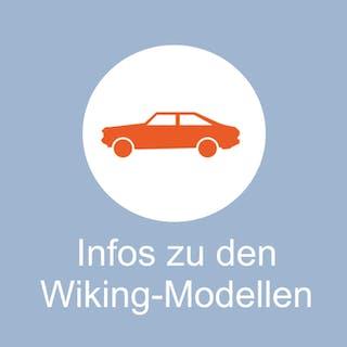 Die hier angegebenen Nummern der Wiking Modellfahrzeuge und Zubehör