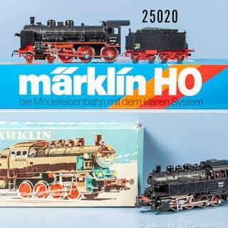 Konv. 2 Märklin H0 Lokomotiven, dabei 3032 Tenderlok der DB, BN 81