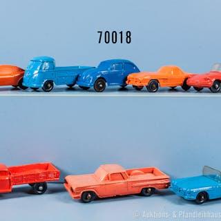 Konv. 8 Tomte-Laerdal Fahrzeuge, Pkw, Sportwagen usw., Gummiausf.