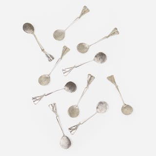 CLAUDE LALANNE, Les Phagocyte spoons, set of ten | Wright20.com