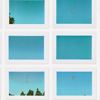 JOHN BALDESSARI, Throwing Three Balls in the Air to Get a Straight