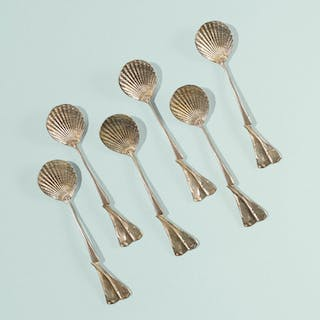 CLAUDE LALANNE, Les Phagocytes spoons, set of six | Wright20.com