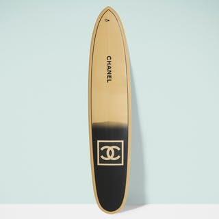 CHANEL X PHILIPPE BARLAND, surfboard | Wright20.com