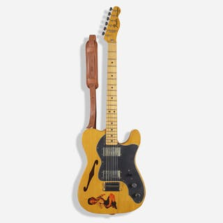 FENDER, 1976 Telecaster Thinline electric guitar | Wright20.com