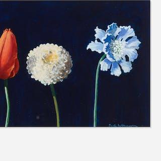 PAUL WONNER, Three Flowers | Wright20.com