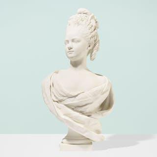 SÈVRES, bust of Marie Adélaïde Clotilde Xavière | Wright20.com