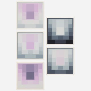 KARL GERSTNER, Untitled (five works) | Wright20.com