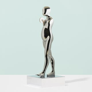ERNEST TROVA, Falling Man (Walking Figure with Disc) | Wright20.com
