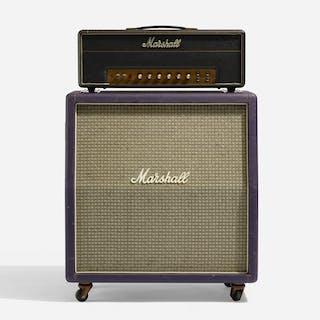 MARSHALL, JTM45 amplifier head and rare purple tolex cabinet | Wright20.com