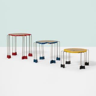 GAETANO PESCE, Triple Play nesting tables, set of three | Wright20.com