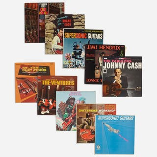 VARIOUS ARTISTS, collection of ten records | Wright20.com
